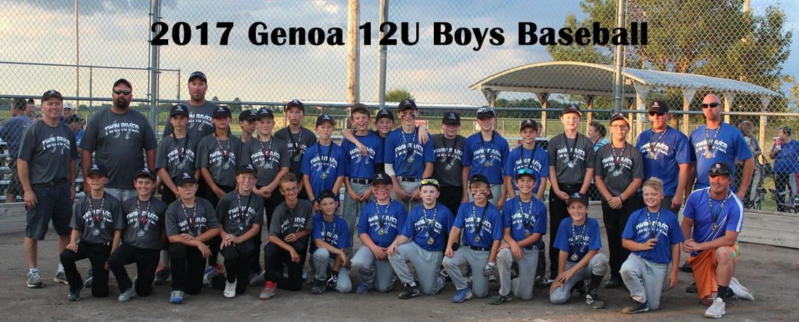 12U Boys Baseball